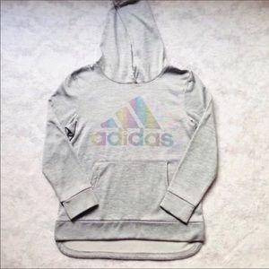 NEW Adidas Grey Pullover Hoodie